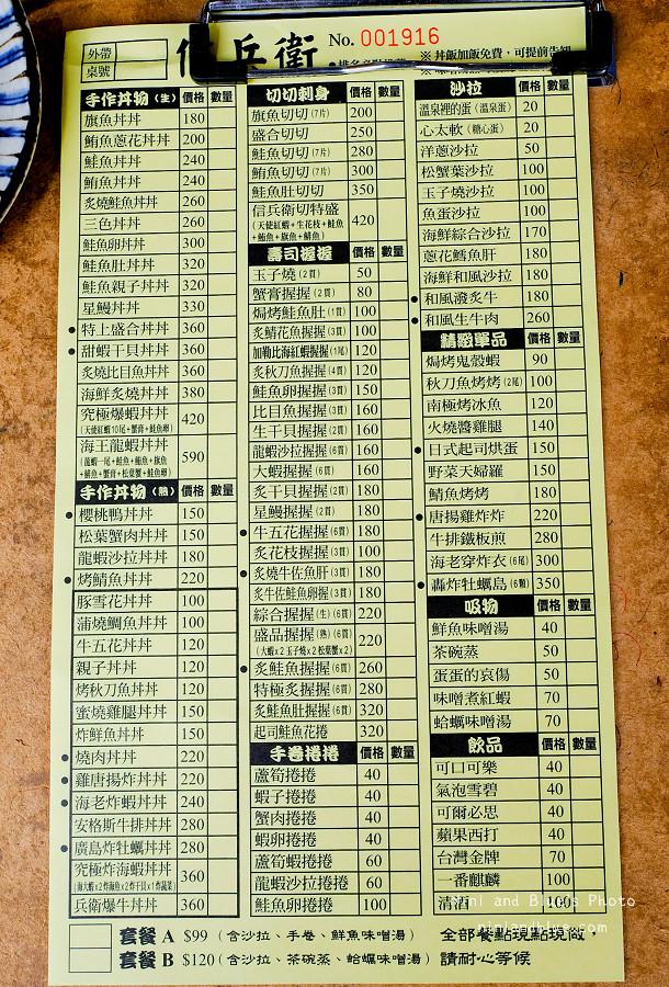 信兵衛 手作丼飯壽司。02