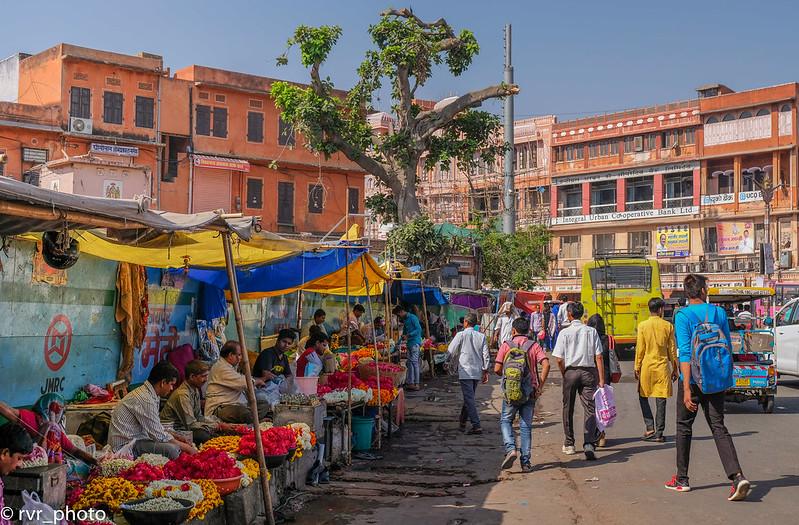 Calles de Jaipur, India