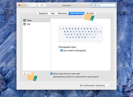 gõ tiếng Việt trên Macbook