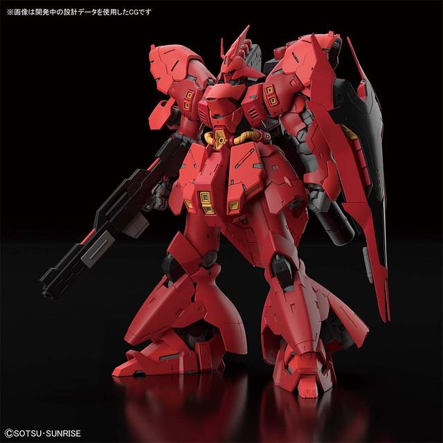 史上最大級!RG 1/144《機動戰士鋼彈 逆襲的夏亞》MSN-04 沙薩比(サザビー)08 月登場!