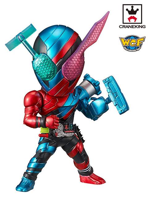 WCF系列 《假面騎士》假面騎士「BUILD & EX-AID」篇!仮面ライダーシリーズ  ワールドコレクタブルフィギュア~ビルド&エグゼイド~