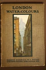 LONDON - WATERCOLOURS. 1915.