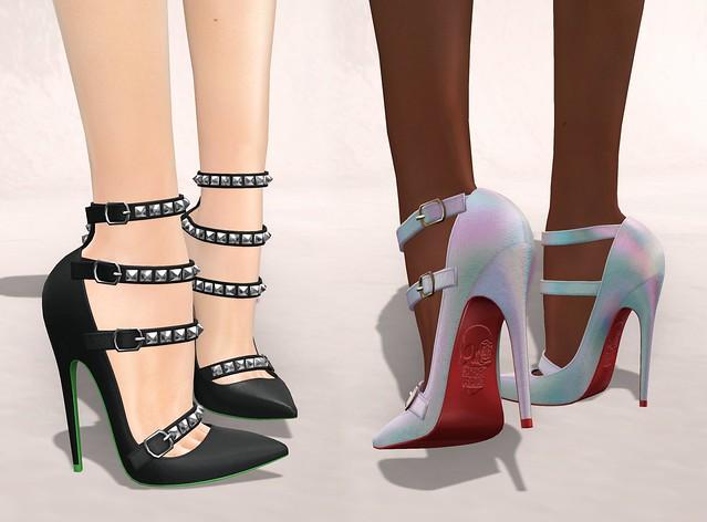 banshee heels