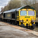 22663 66523 Freightliner to Stockport @ Reddish South UK