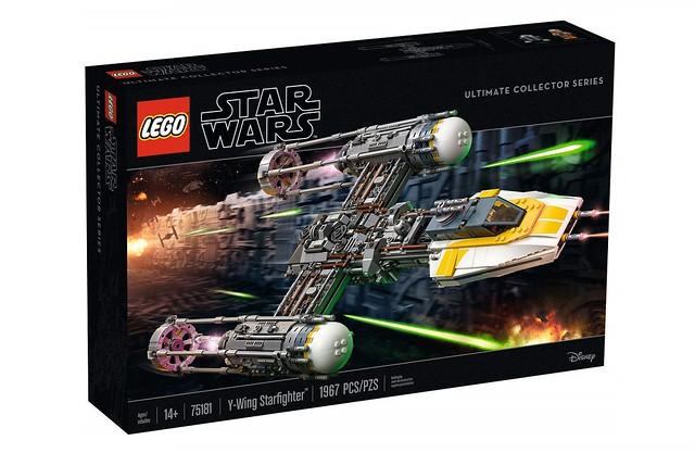LEGO Star Wars 75181 UCS Y-Wing - oficjalnie 1