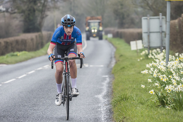 British Cycling Junior Road Race Series 2018. Rnd 2. Tour Of The Mendips. Day 1
