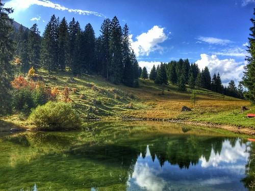 Höfersee Tannheimer Tal Tirol