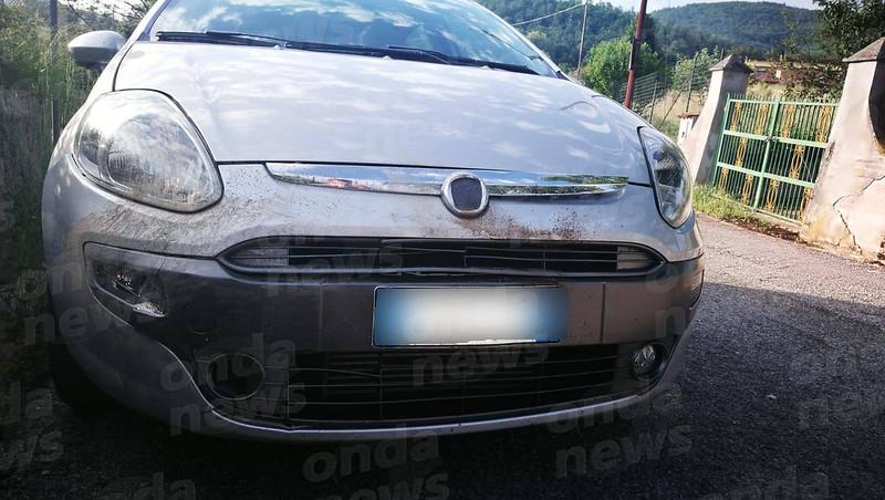 Incidente auto a Tramutola