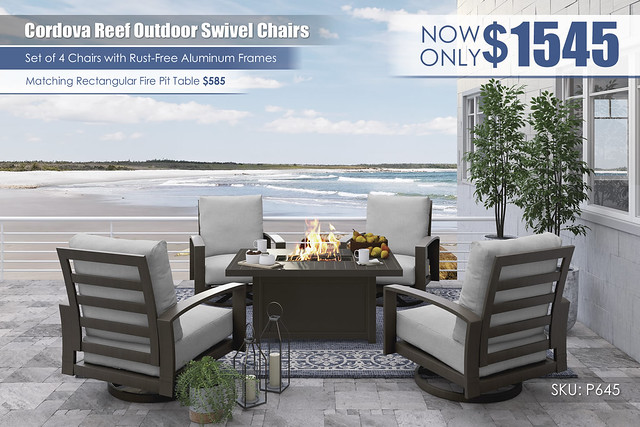 Cordova Reef Outdoor Swivel Chair Set_P645-775-821(4)-FIRE