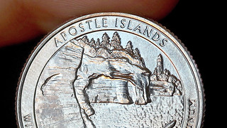 Apostle Islands quarter