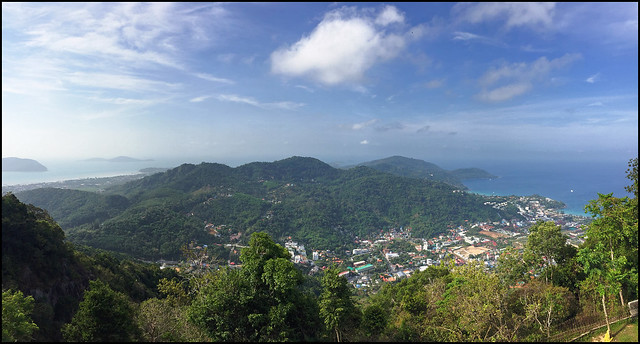 View south from Big Buddha Phuket