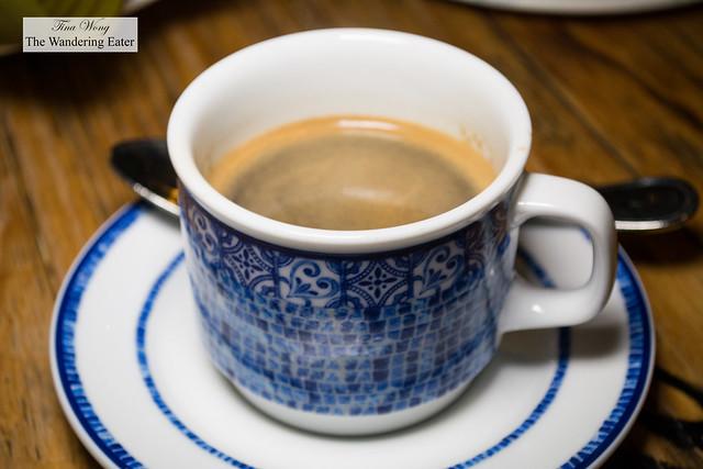 Oaxacan espresso coffee