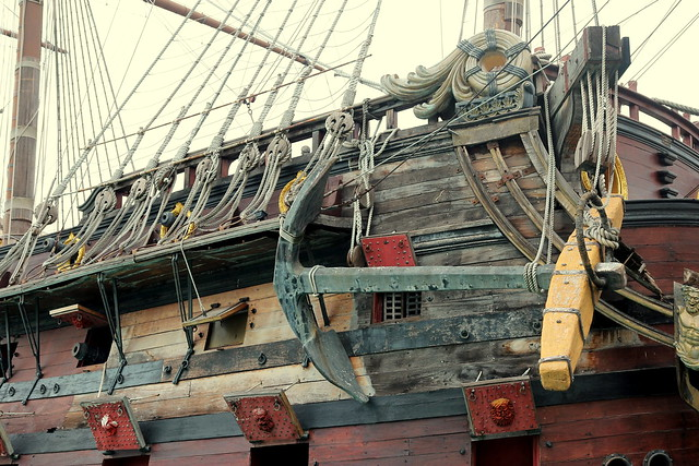 Old rigging, Canon EOS 600D, Sigma 18-35mm f/1.8 DC HSM