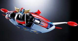 超合金魂《克雷飛天神》克雷飛天神 D.C.對應用「飛天神機組」!!GX-76X グレンダイザー D.C.対応 スペイザーセット