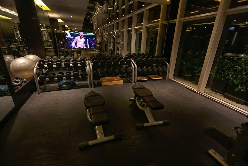 Ritz-Carlton Hong Kong Pool and Gym 9
