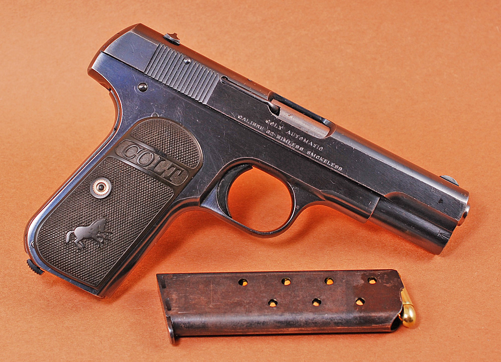 End of Life: Colt 1903 Pocket Hammerless - Topic