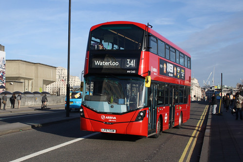 Arriva London HV343 LF67EUM