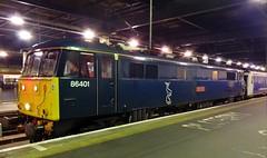 86401 Wembley Inter City Depot to London Euston 5S96 at London Euston