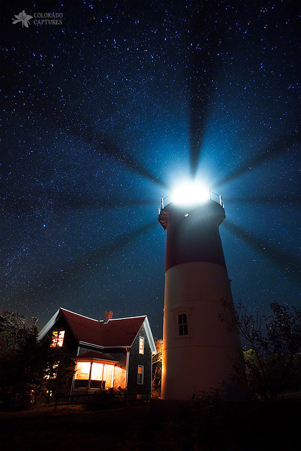 Cape Cod Light Beams