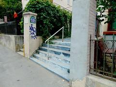 un colț de bucurești-strada cu scări/bucharest-the stairways street