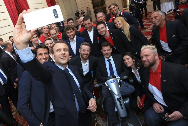 Réception Elysée 2018