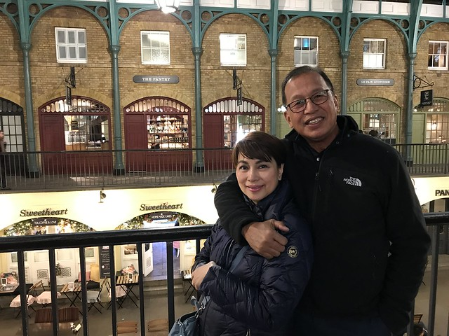 Covent Garden after dinner, March 21, 2018
