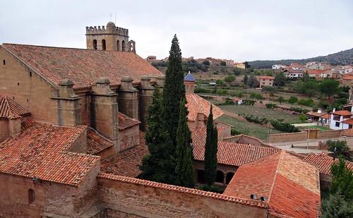 Mora de Rubielos. Teruel. España. Antigua Colegiata de Santa María.