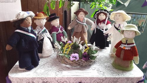 Knitted Suffragettes