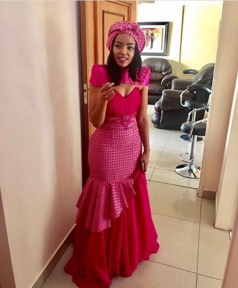 2018 Shweshwe Traditional Dresses