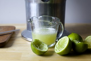 lime juice for marinade and dressing