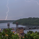 24. Mai 2018 - 8:56 - Lightning Strikes over the Old Stillwater Bridge
