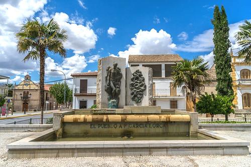 Fuente Vaqueros - Monumento a Federico García Lorca