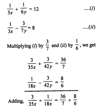 RD Sharma 10 Solutions Chapter 3 Pair Of Linear Equations In Two Variables