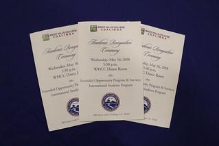 WHCC Academic Recognition Ceremony