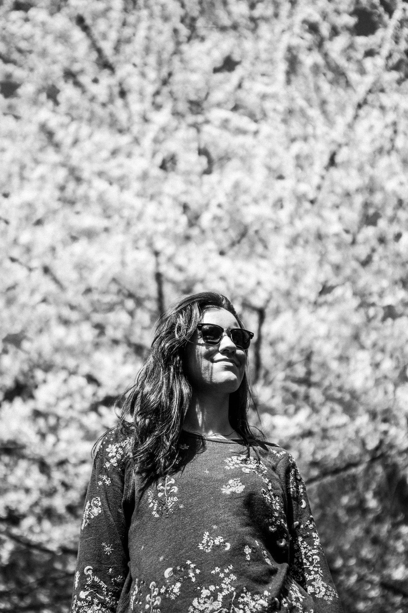 Marina y el cerezo