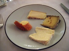 CHATEAU D'ETOGES, MENU GOURMANDE, CHEESES 011 - Photo of Congy