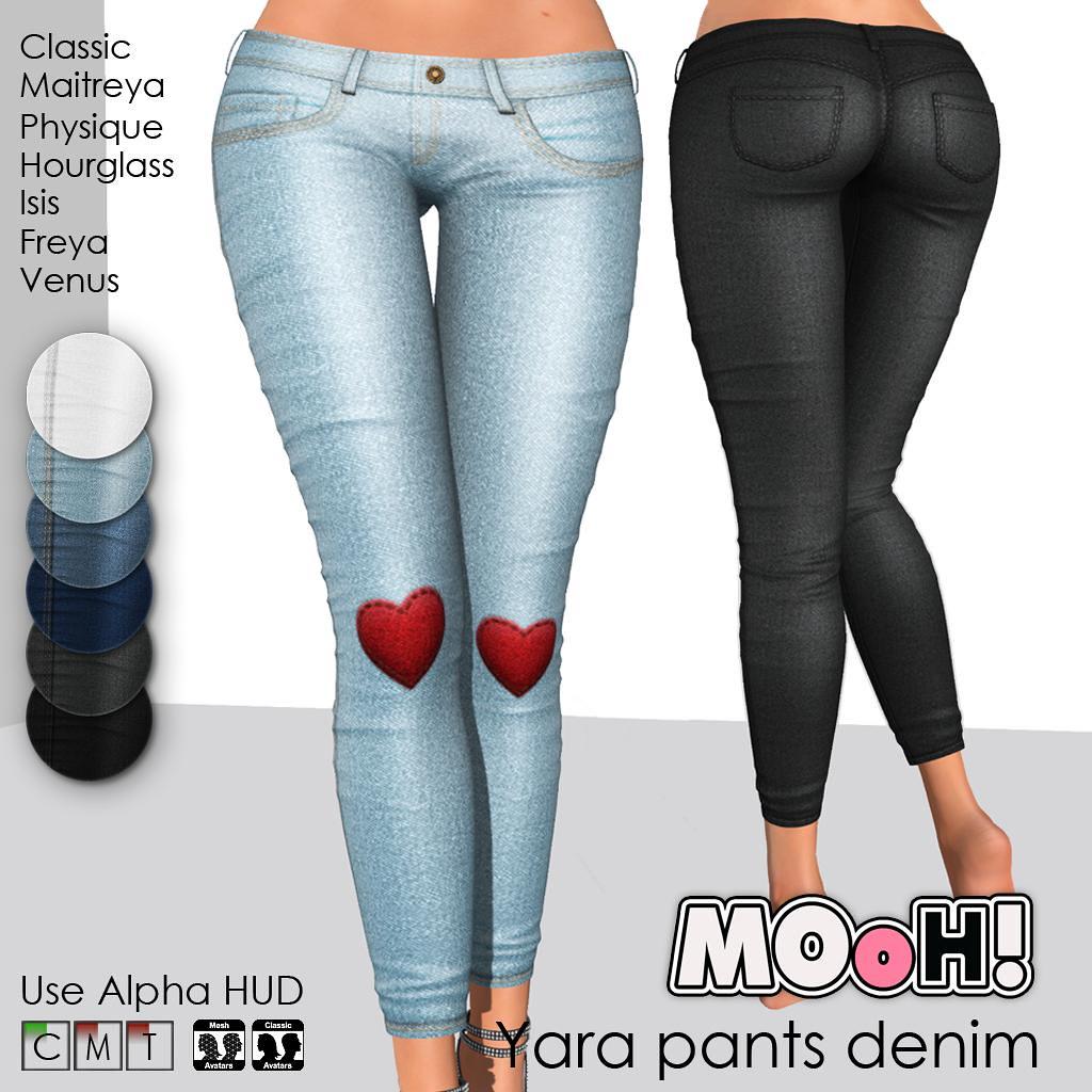 Yara pants denim