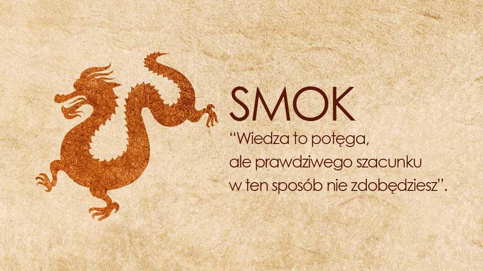 Horoskop chiński Smok