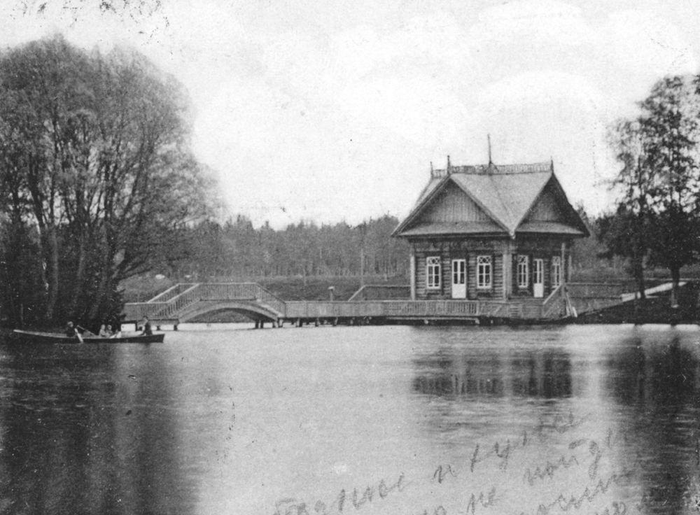 Дача Хлудовых на Богодельском озере