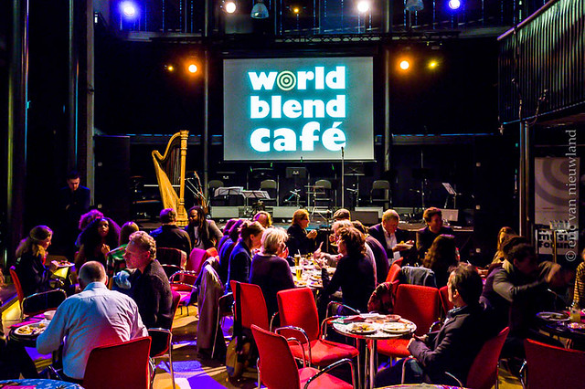World Blend Cafe: 3 april 2018