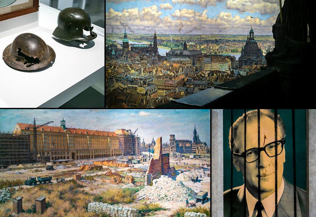 Разрушение и возрождение Дрездена