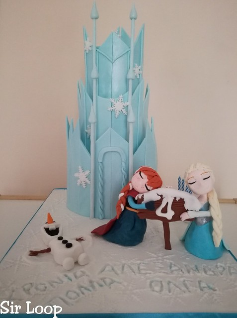 'Frozen' Cake by Stella Barmparigou of Sir Loop