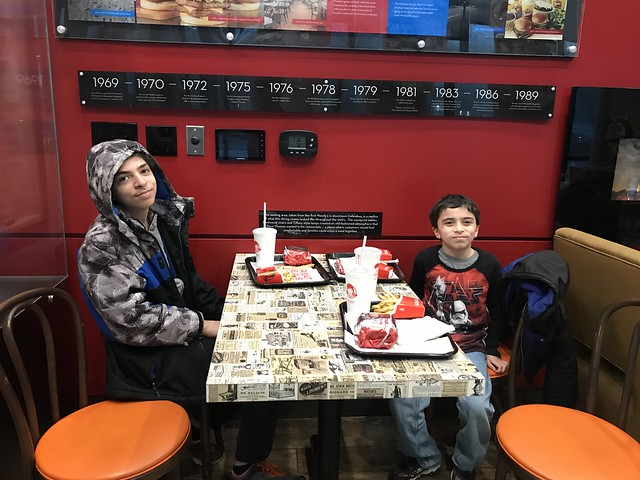 2 - boys at wendys musem dublin