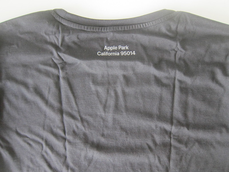 Apple Park T-Shirts - Black - Address