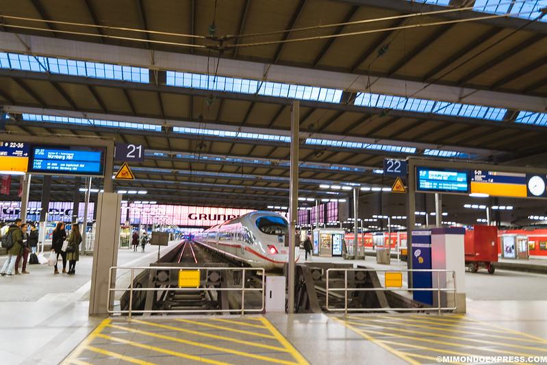 Estación de Tren de Munich