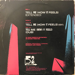 52ND STREET:TELL ME(HOW IT FEELS)(JACKET B)