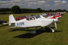G-CSPR Vans RV-6A (25584) Popham 140609