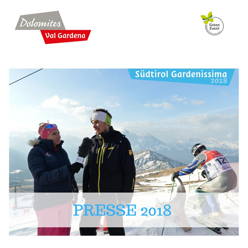 PRESS Südtirol Gardenissima 2018