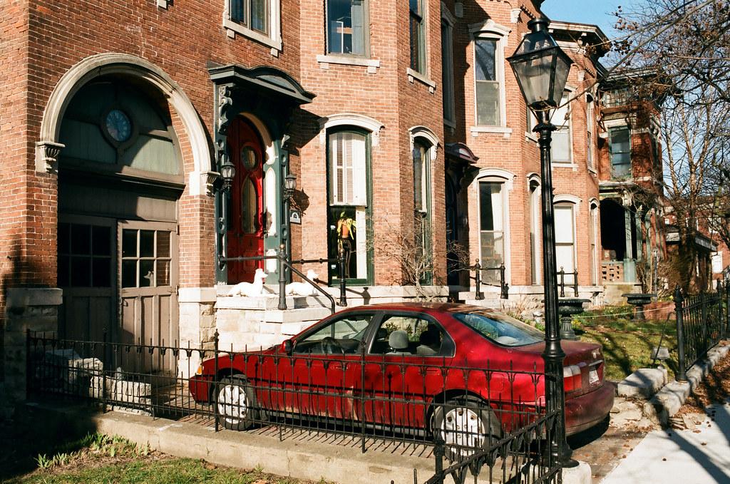 Lafayette row houses