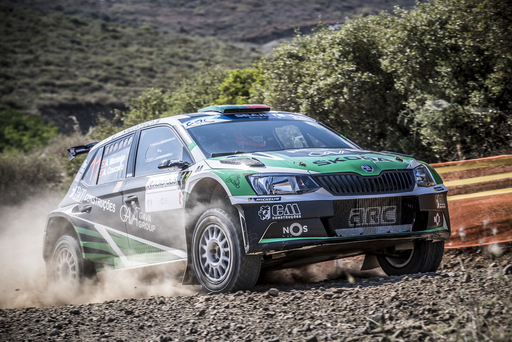 11 MONTEIROI  Aloisio (prt),  COUCEIRO Andre (prt), Skoda Fabia R5, action during the European Rally Championship 2018 - Acropolis Rally Of Grece, June 1 to 3 at Lamia - Photo Gregory Lenormand / DPPI